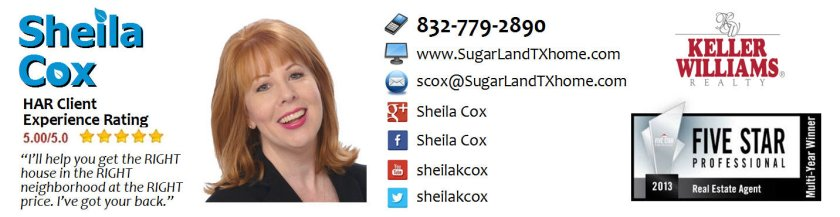 sugar land realtor sheila cox