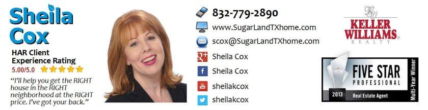 sugar land realtor sheila cox