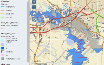 Sugar Land Flood Zones