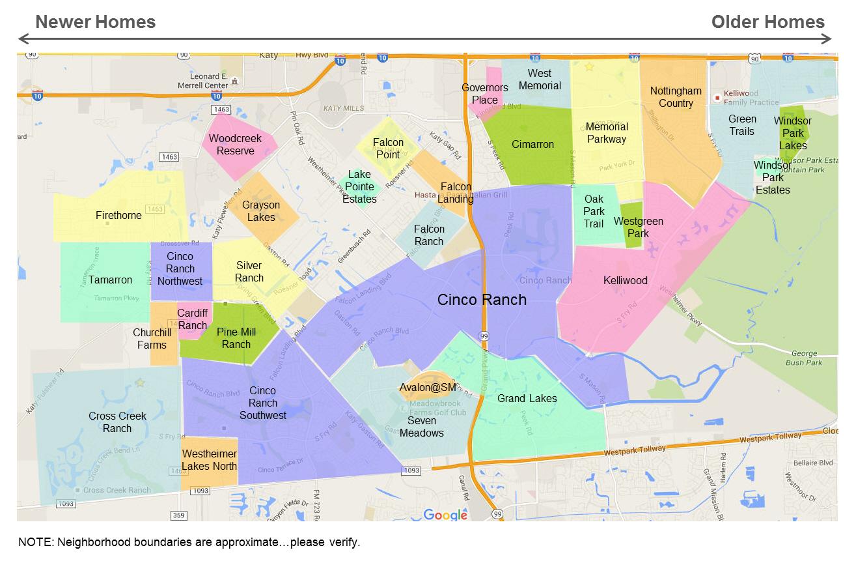 katy-neighborhoods-map