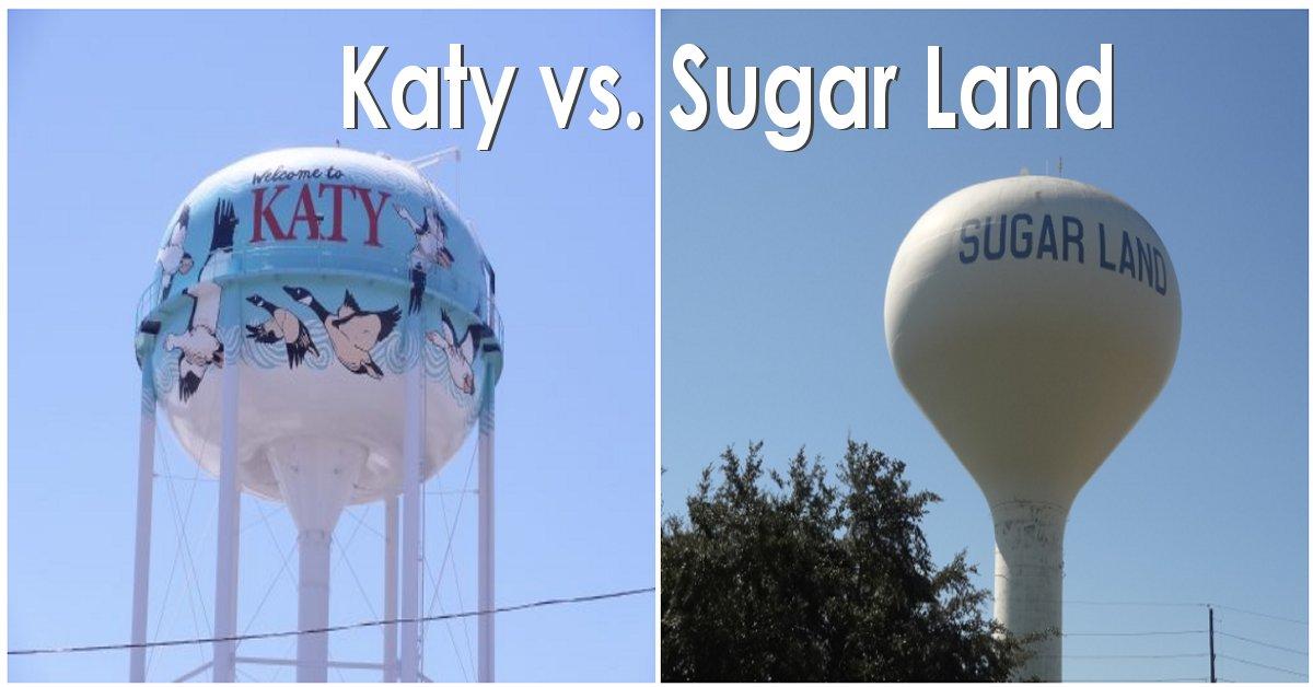 sugar land vs katy
